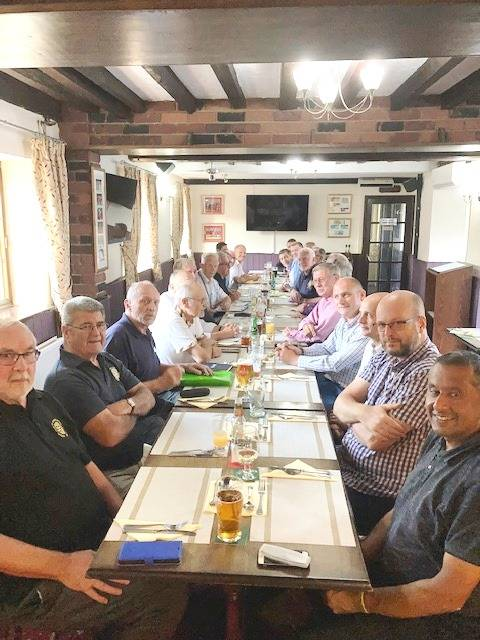 Rotary Club with added supporters 2021